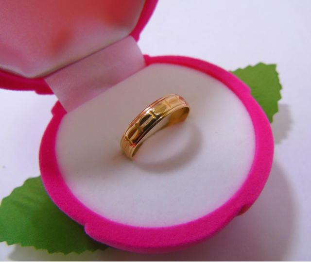 Кольцо 1П 323/1 Золото 585 (14K) вес 2.60 гр.