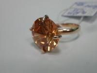 Кольцо с камнем Золото 585 (14K) вес 6.89 г