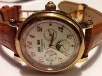Часы мех.PATEK PHILIPPE (скелетоны)