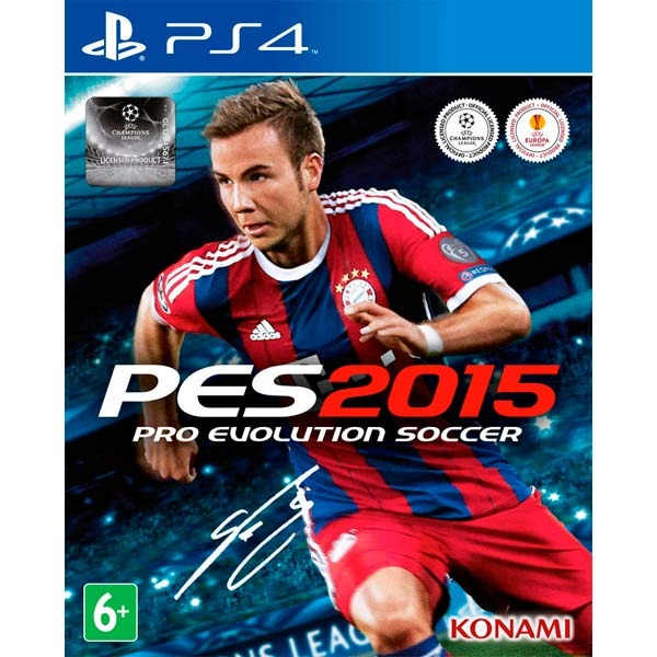 Диск PS4 Pro Evolution Soccer 2015