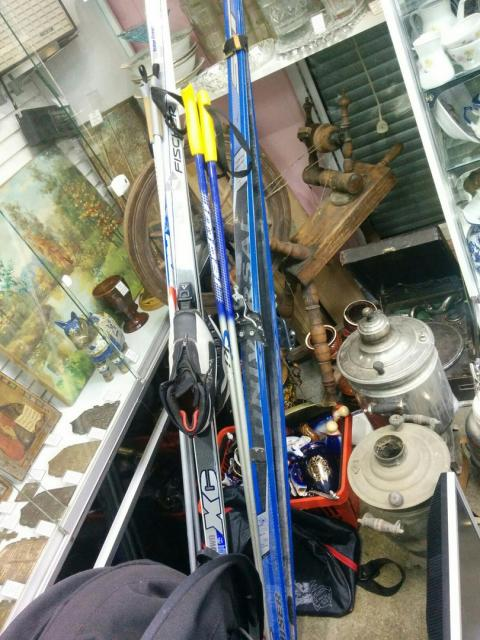 Лыжи Universal Cruiser + палки