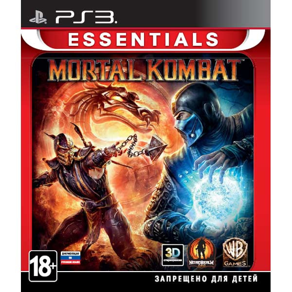 Диск PS3 Mortal Kombat
