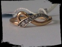 Кольцо Золото 585 (14K) вес 1.26 гр.