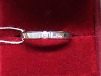 Кольцо бел.зол.брилл.57 1шт 0.09ct Золото 585 (14K) вес 2.75 г