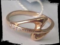 Кольцо Золото 585 (14K) вес 2.11 гр.