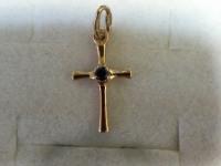 Крест Золото 585 (14K) вес 0.77 гр.