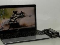 Ноутбук Acer e1-571g (в пакете, зарядное) №102