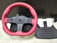 Игровой руль с педалями speedlink sl-6694-rd