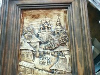*Картина в камне Храм в деревне