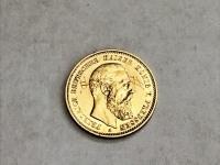 Монета Золото 750 (18K) вес 3.96 г