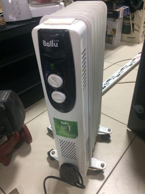 Масляный радиатор Ballu BOH/CL-07BRN 1500 7 секций