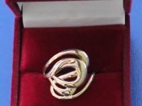 Кольцо женское Золото 585 (14K) вес 2.68 г