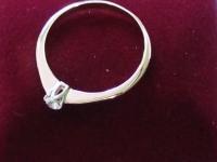 Кольцо с фианитами Золото 585 (14K) вес 1.77 г