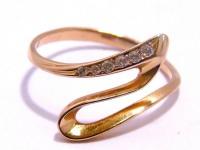 Кольцо Золото 585 (14K) вес 1.72 г