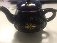Чайник и кружка Гжель