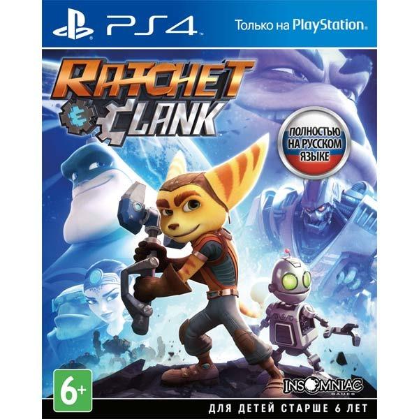 Диск PS4 Ratchet & Clank