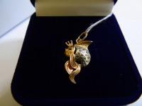Кулон 1П 905/1 Золото 585 (14K) вес 1.67 гр.