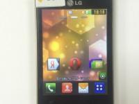 Телефон LG T370,гол