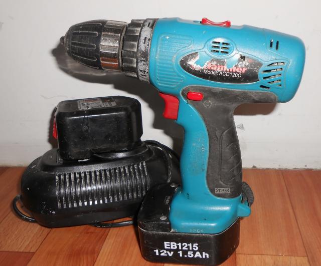 Дрель Hammer ACD120C PREMIUM в пакете, зарядное №101