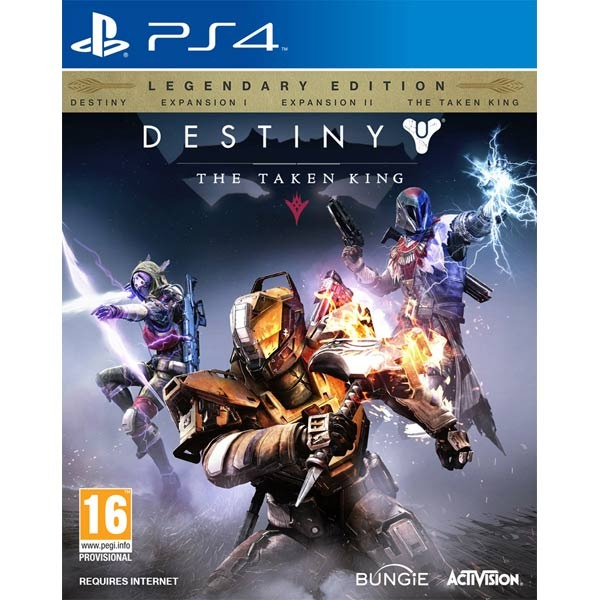 Диск PS4 Destiny: The Taken King. Legendary Edition