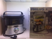 Пароварка Philips HD 9160 в коробке