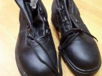 Ботинки мужские черные зимние р.40