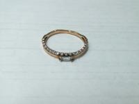 Кольцо с камнем Золото 585 (14K) вес 0.85 г
