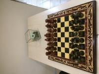 Шахматы резные (дерево)