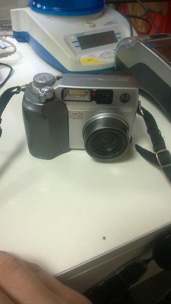 Фотоаппарат olympus n438