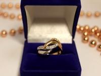 Кольцо с/к Золото 585 (14K) вес 3.92 г