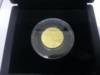 50 рублей  Сочи 2014г. Монеты золотые 999 вес 7.78 гр.