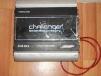 Усилитель challenger pro line cha 75.2 + провода №15