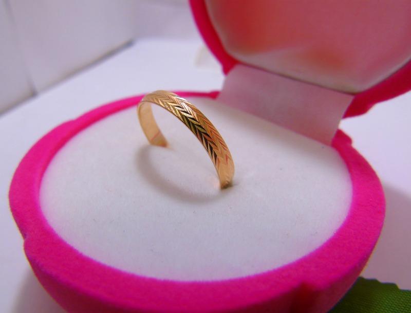 Кольцо С 49 Золото 585 (14K) вес 1.34 гр.