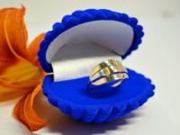 Кольцо  Золото 585 (14K) вес 2.58 г