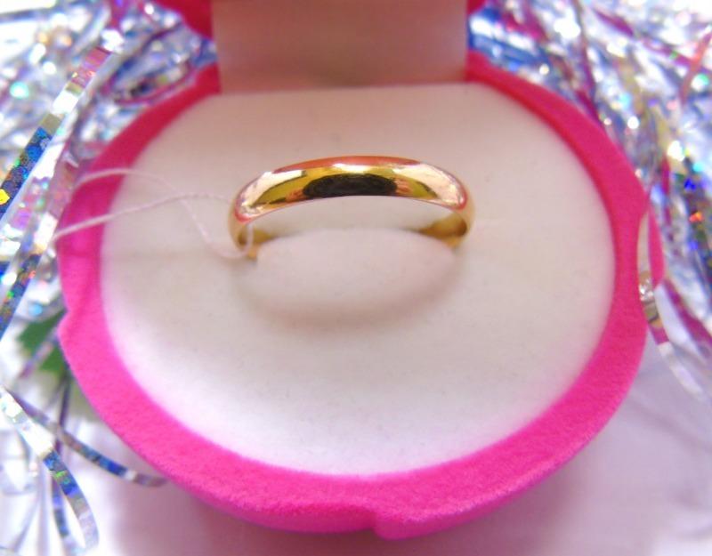 Кольцо С 99 Золото 585 (14K) вес 2.43 гр.