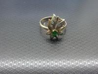 Кольцо с камнями Золото 585 (14K) вес 2.77 гр.
