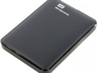 Внешний жесткий диск WD Elements Portable 1 Tb (WDBUZG0010BBK)
