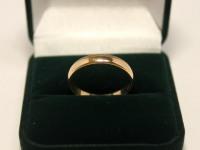 Кольцо обруч Золото 585 (14K) вес 2.71 г