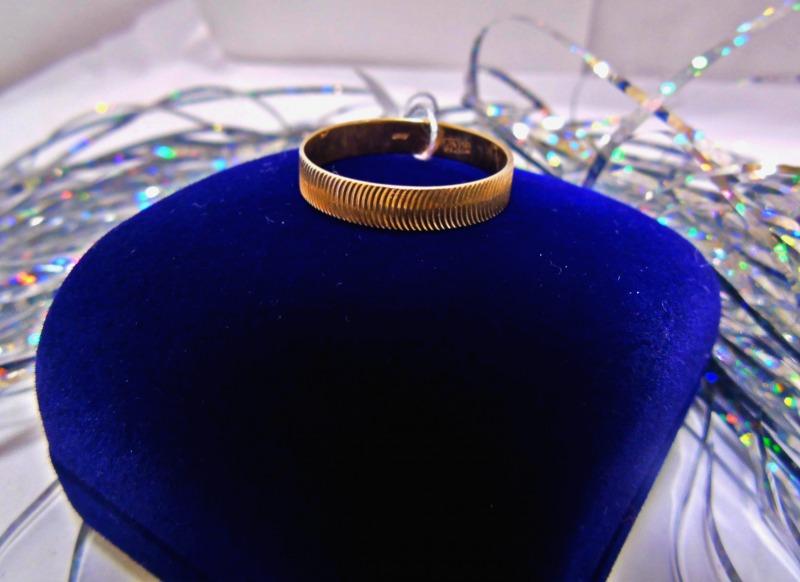 Кольцо 4Н 66 Золото 585 (14K) вес 1.29 гр.