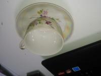 *Кофейная чашка с блюдцем Дулево