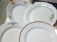 Тарелки дулево разные 4шт.