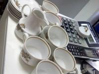 Сервиз кофейный ГДР HENNEBERG PORZELLAN 1777