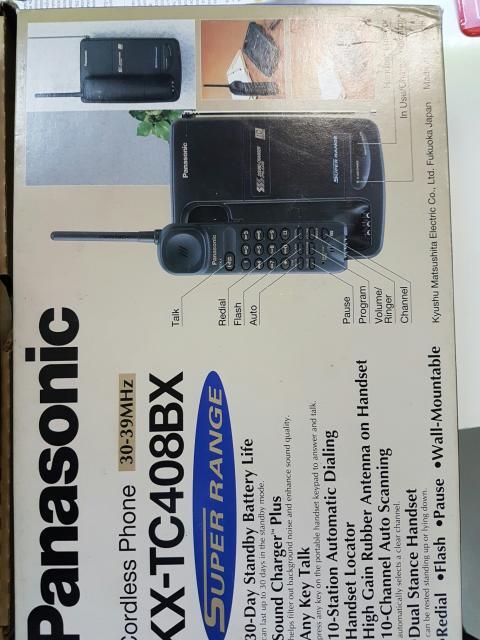 Радиотелефон Panasonic KX-TC408BX