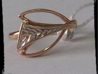 Кольцо Золото 585 (14K) вес 2.82 гр.
