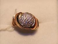 Кольцо ск. Золото 585 (14K) вес 6.01 г