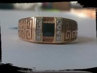 Кольцо Золото 585 (14K) вес 7.21 г
