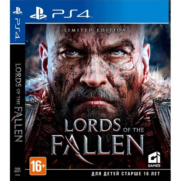 Диск PS4 Lords Of The Fallen