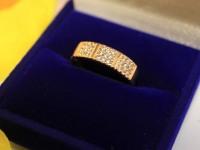 Кольцо с/к Золото 585 (14K) вес 2.16 г