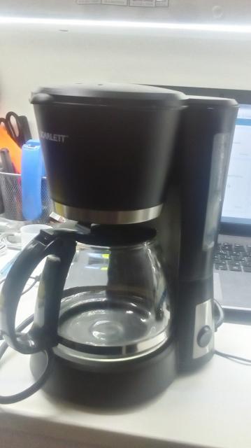 Кофеварка капельная Scarlett SC-038 Black