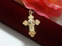 Крест 2Н 7312 Золото 585 (14K) вес 2.33 г